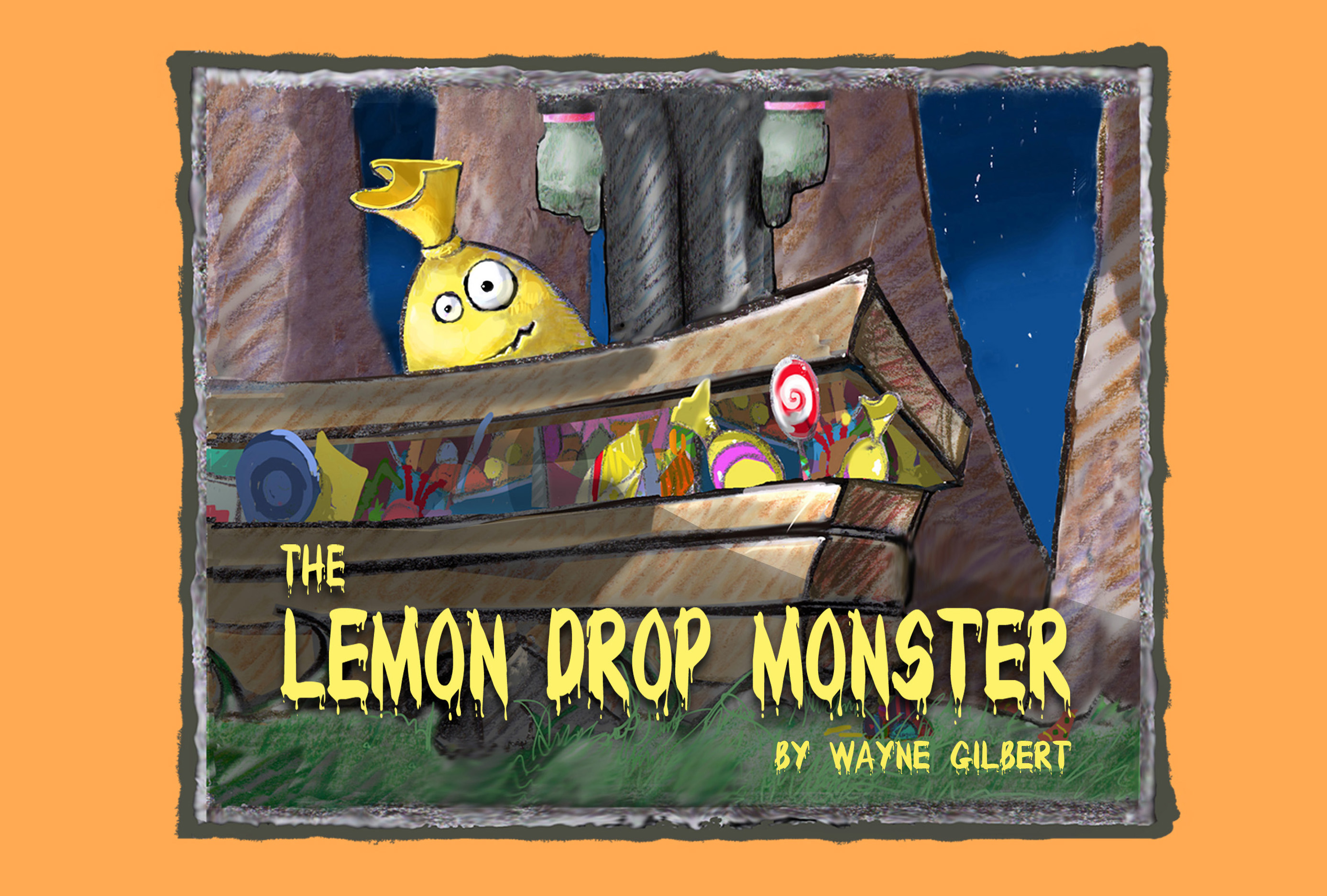 Lemon Drop Monster