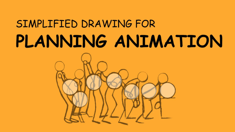 Simplified Drawing for Animation
